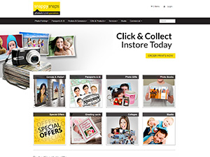 Snappy Snaps Demo Site